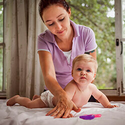 Детское физическое развитие (от 3 до 6 месяцев)